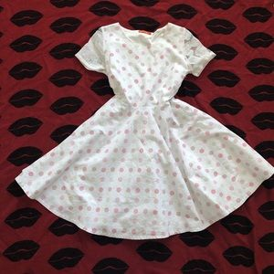 Dresses & Skirts - Bonne Chance collections retro polka dot dress S